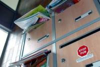 Relève du courrier par une catsitter