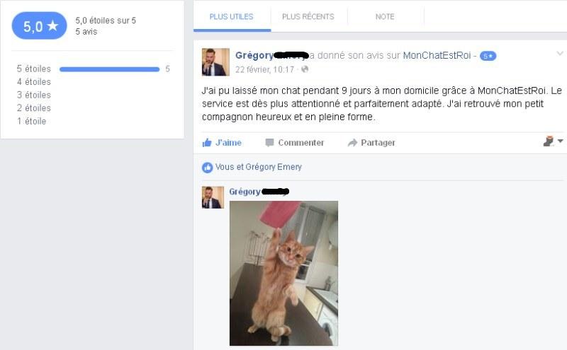 Hector le chat un maître satisfait