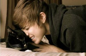 justin-bieber-et-son-chat
