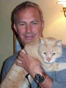 kevin-costner-et-son-chat