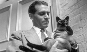 laurence-olivier-et-son-chat