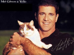 mel-gibson-et-son-chat