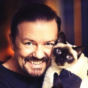 ricky-gervais-et-son-chat