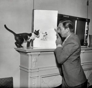 walt-disney-et-son-chat