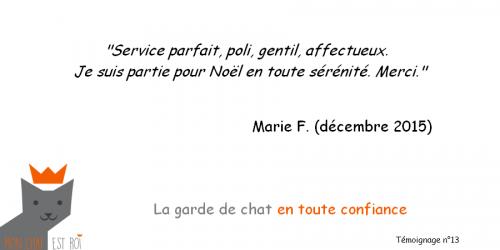 Témoignage 13 - Marie F - Lauren