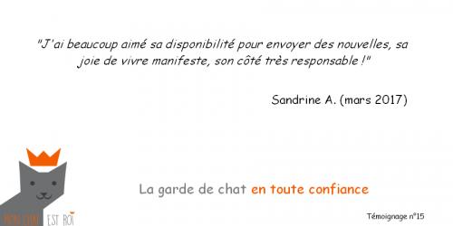 Témoignage 15 - Sandrine A - Lauren