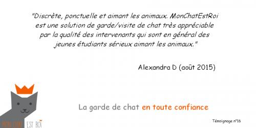 Témoignage 16 - Alexandra D - Morgane