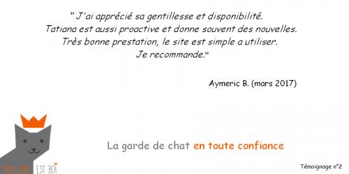 Témoignage 2 - Aymeric B - Tatiana