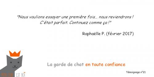 Témoignage 21 - Raphaelle P - Morgane