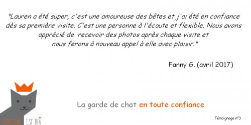Témoignage 3 - Fanny G - Lauren