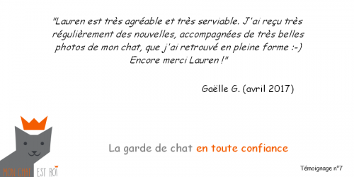 Témoignage 7 - Gaëlle G - Lauren
