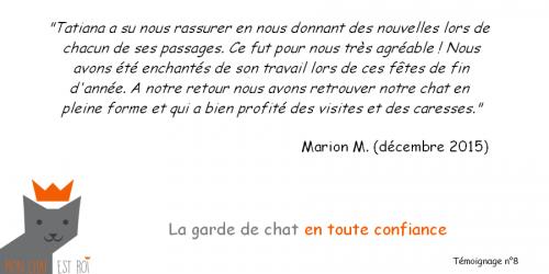 Témoignage 8 - Marion M - Tatiana