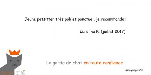Témoignage 31 - Caroline R - Vladimir
