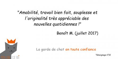 Témoignage 32 - Benoît M - Vladimir