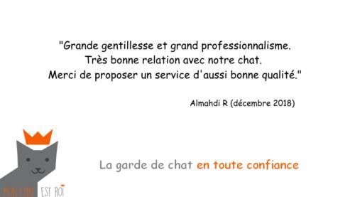 Garde Chat Paris 12 - Almahdi R - Lydie