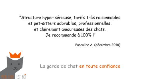 Garde Chat Paris 12 - Pascaline A - Lydie