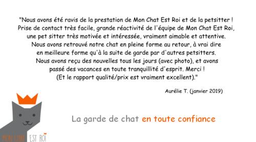 Garde Chat Paris 18 - Aurélie T - Priscilia