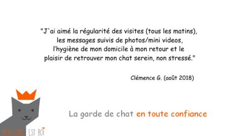 Garde Chat Paris 18 - Clémence G - Priscilia