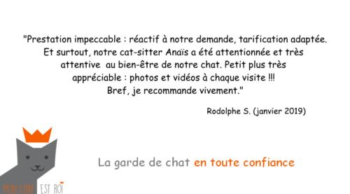 Garde Chat Paris 19 - Rodolphe S - Anaïs