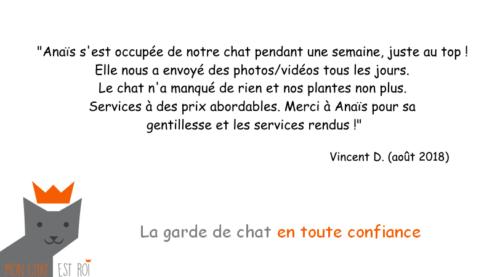 Garde Chat Paris 19 - Vincent D - Anaïs