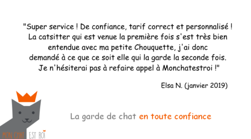 Garde Chat Paris 20 - Elsa N - Anne