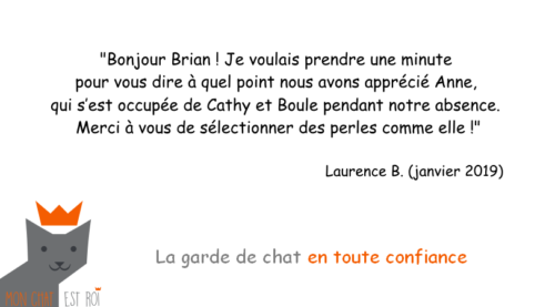 Garde Chat Paris 20 - Laurence B - Anne