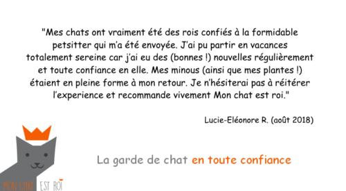 Garde Chat Paris 20 - Lucie-Eléonore R - Anne