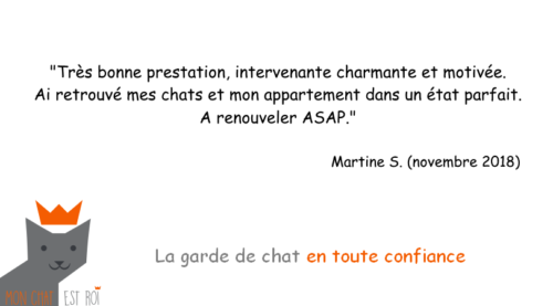 Garde Chat Paris 20 - Martine S - Anne
