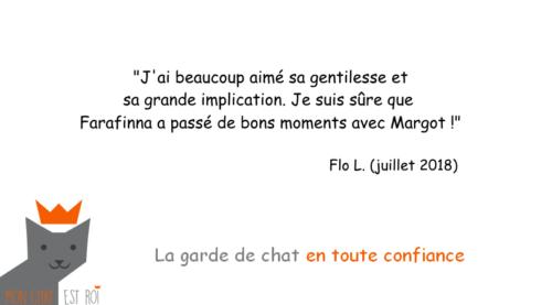 Garde Chat Paris 3 - Flo L - Margot