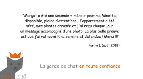 Garde Chat Paris 3 - Karine L - Margot